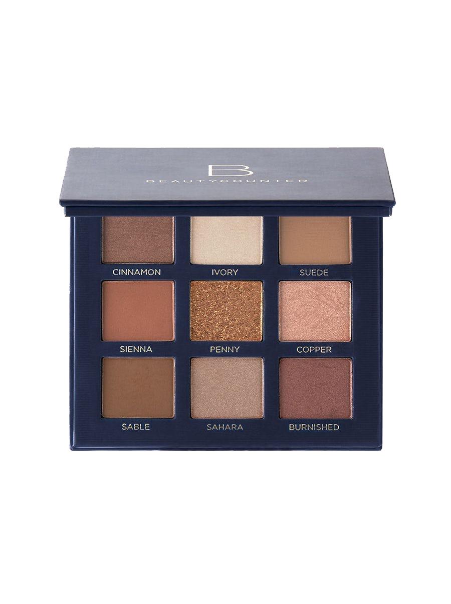beautycounter velvet eyeshadow palette