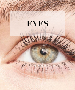 girls eyes with makeup beauty