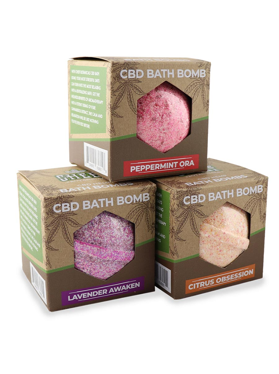 cheef botanicals CBD Bath Bomb