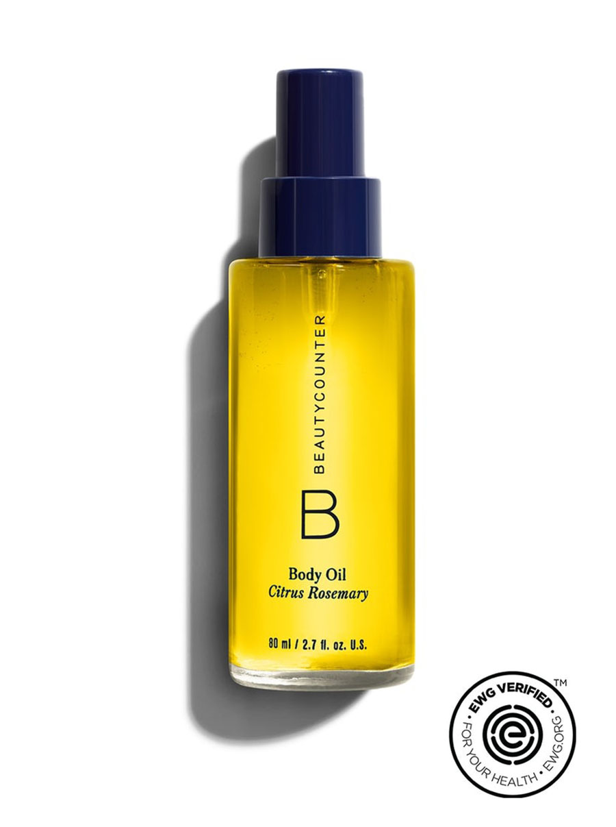 beautycounter Body Oil in Citrus Rosemary
