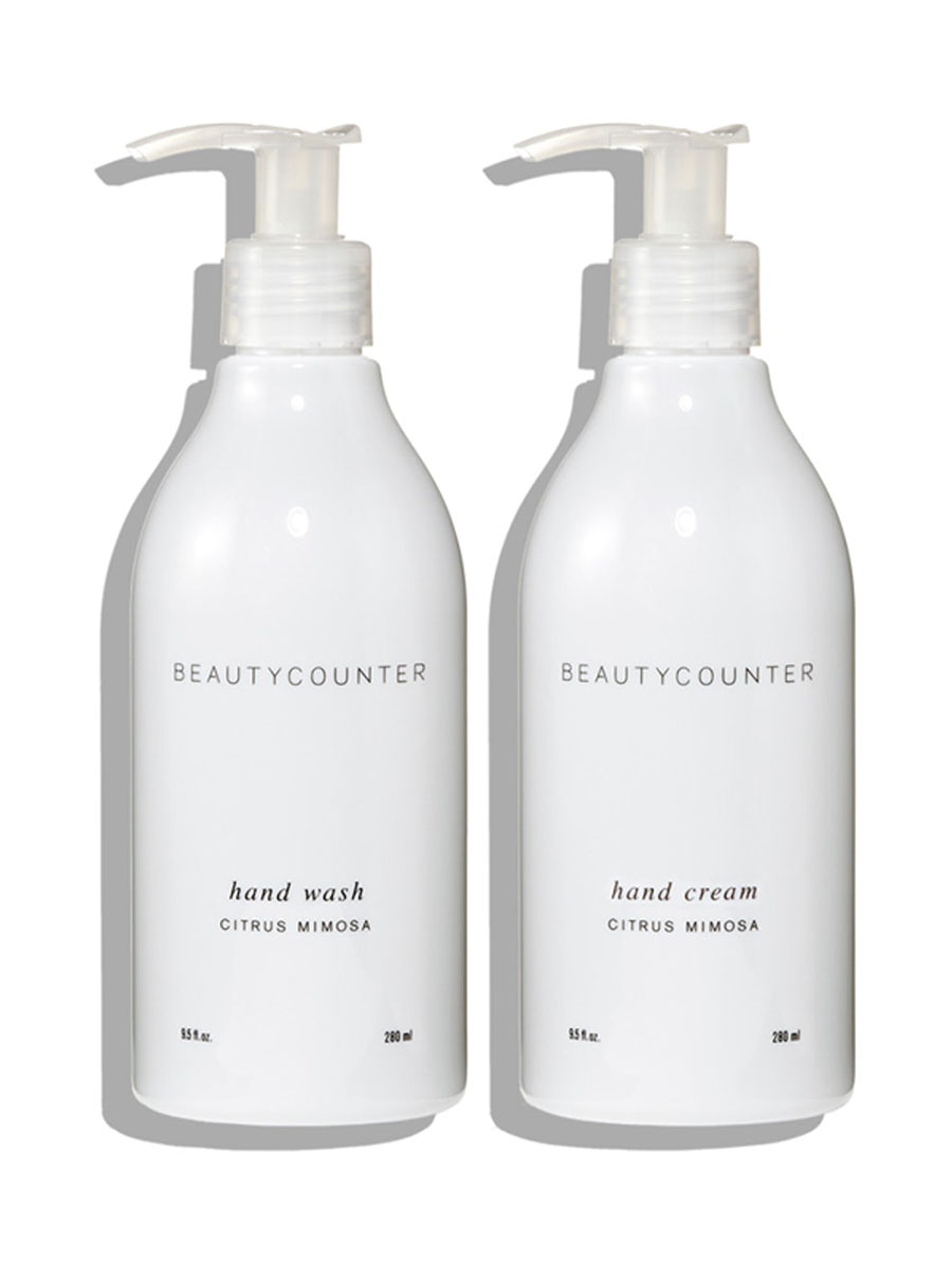 beautycounter Citrus Mimosa Hand Wash & Hand Cream Set