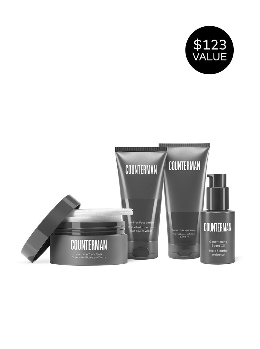 beautycounter Counterman Beard Regimen