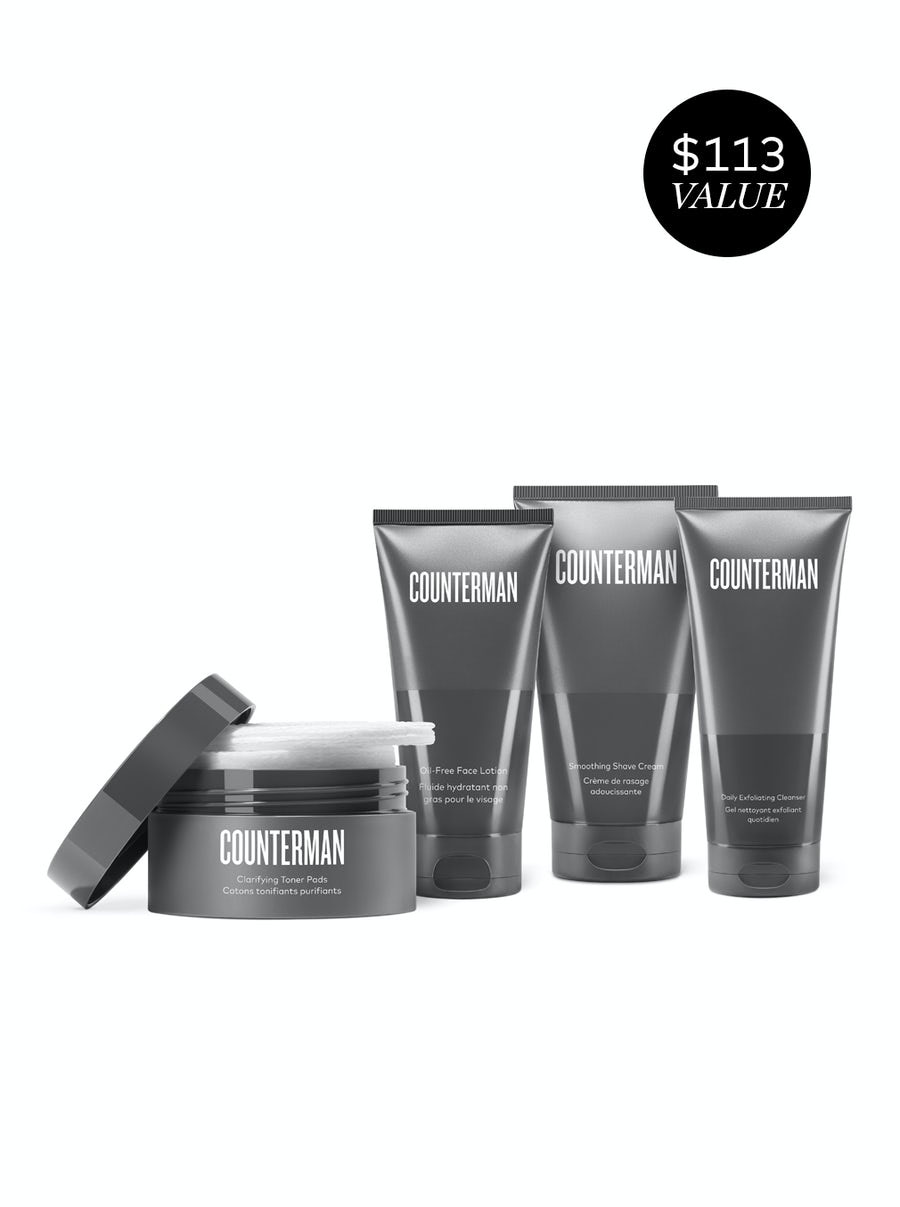 beautycounter Counterman Shave Regimen