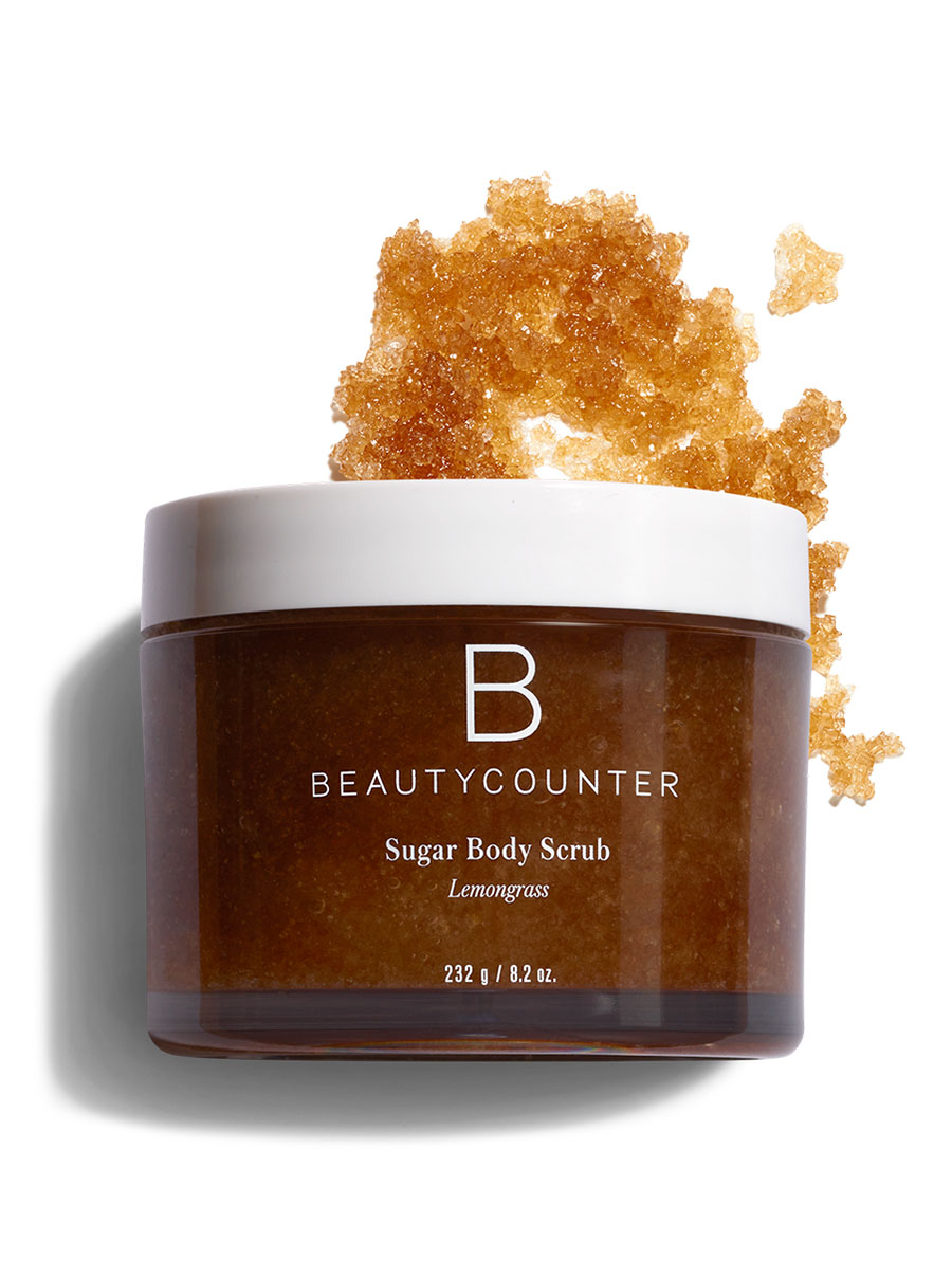 beautycounter Sugar Body Scrub in Lemongrass