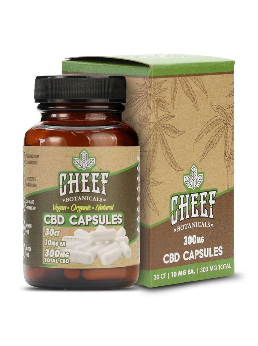 cheef botanicals CBD Capsules
