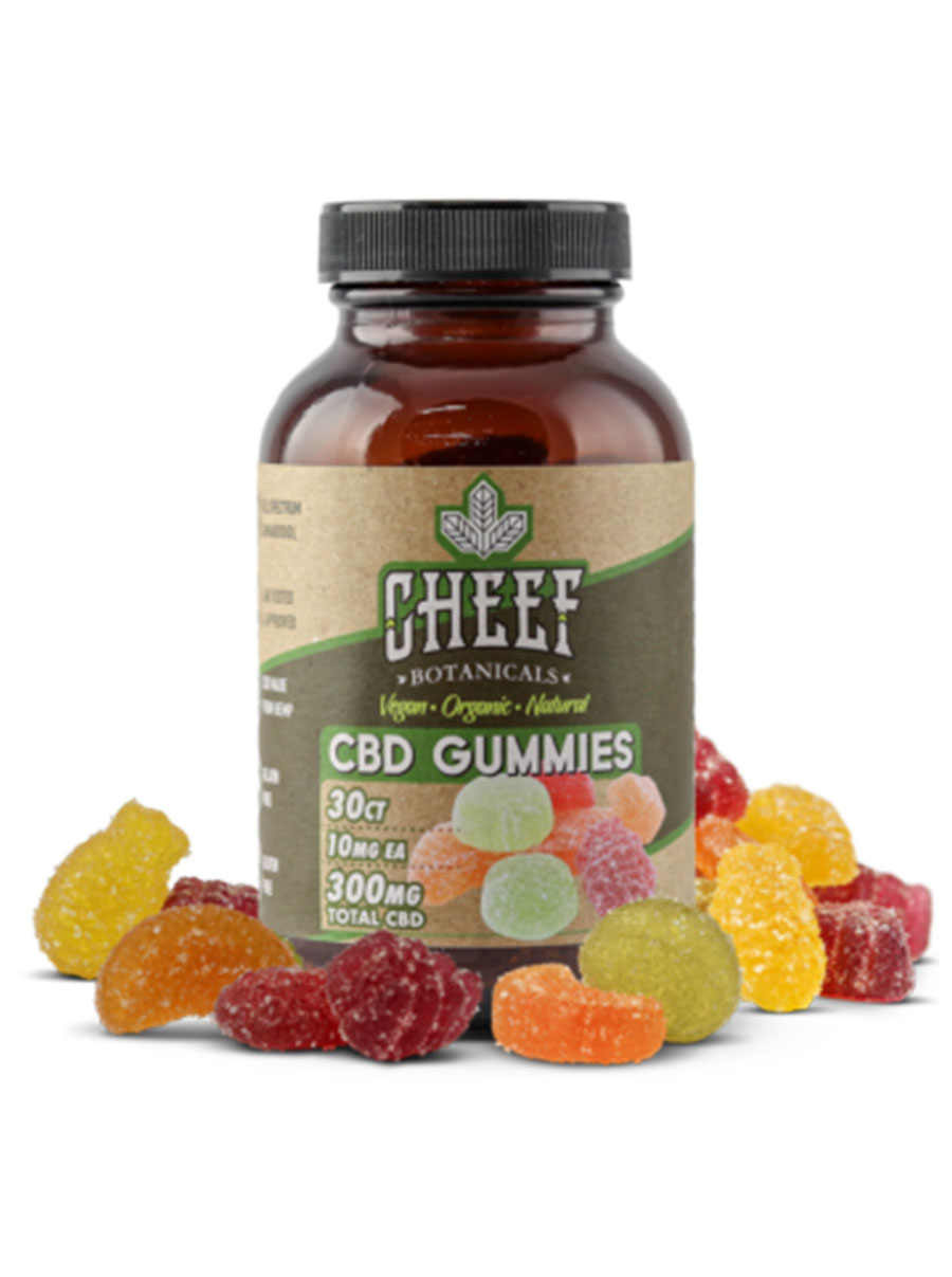 cheef botanicals Vegan CBD Gummies