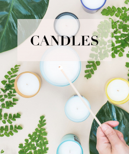 home candles shop lighting candles