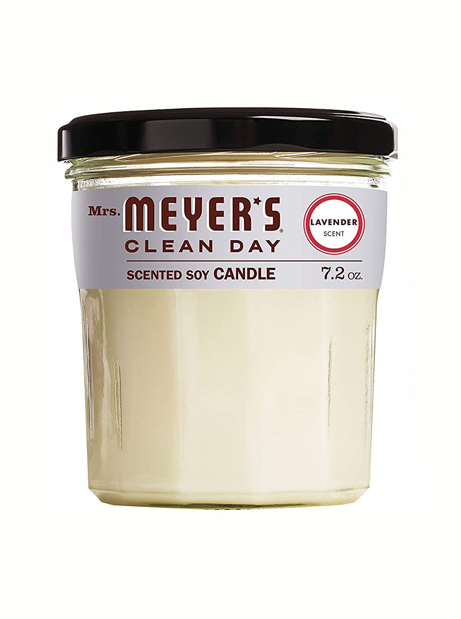 mrs meyers clean day scented soy candle