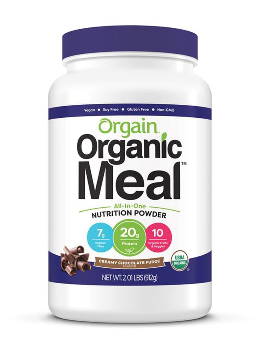 orgain organic meal nutrition powder