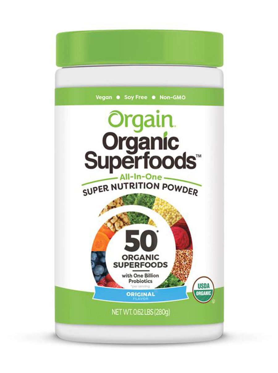 orgain organic superfoods nutritional powder