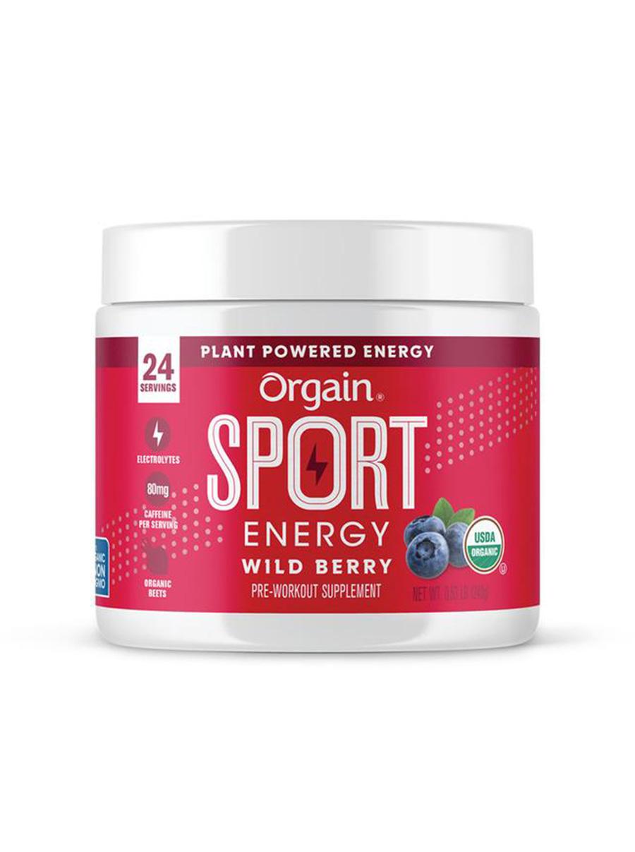 orgain sport energy wild berry