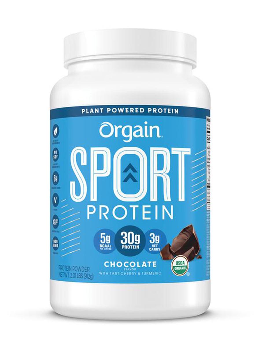 orgain sport protein powder