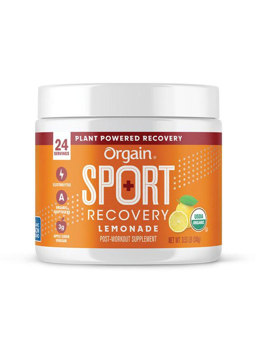orgain sport recovery lemonade