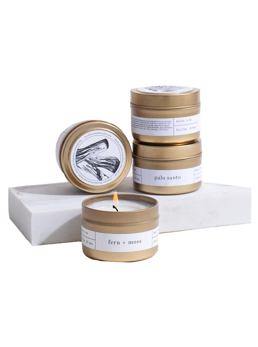 brooklyn candle studio gold travel candles boxed set