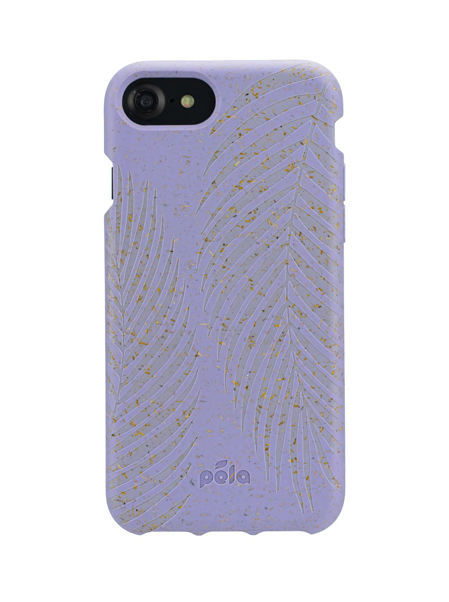 pela case lavender palm iphone case