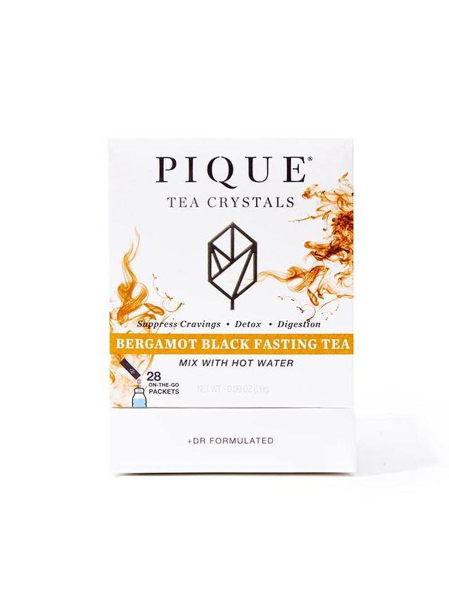 pique tea Bergamot Black Fasting Tea