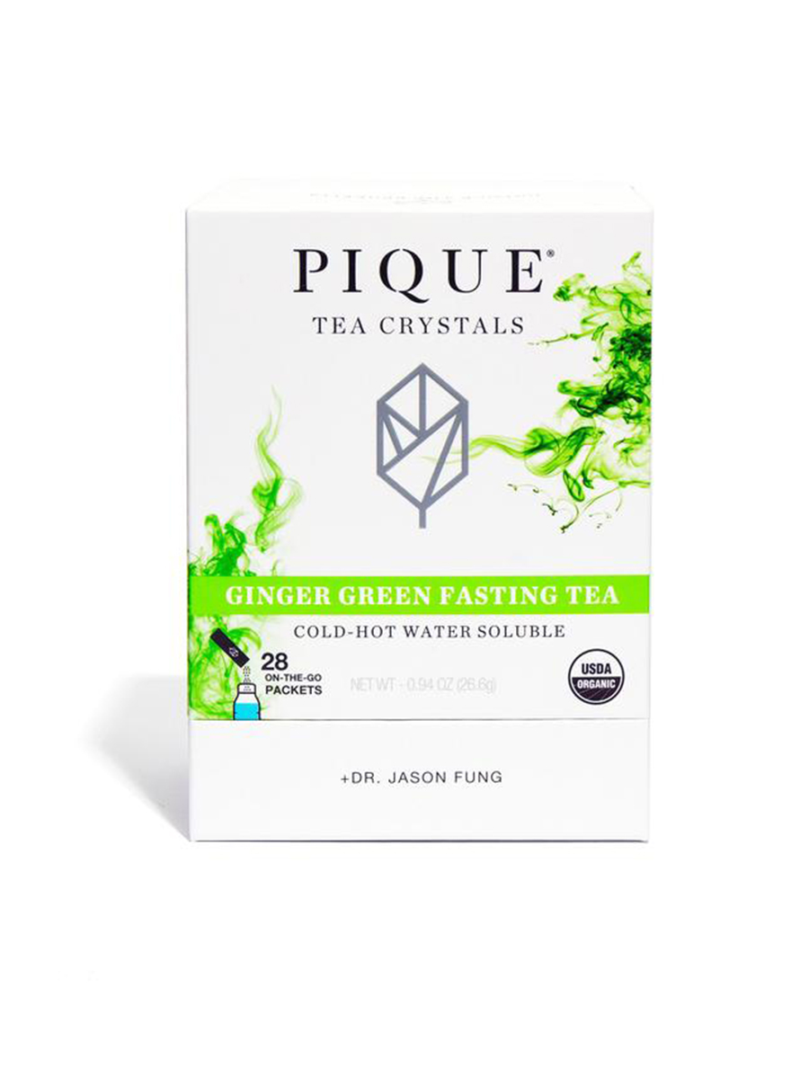 pique tea Ginger Green Fasting Tea
