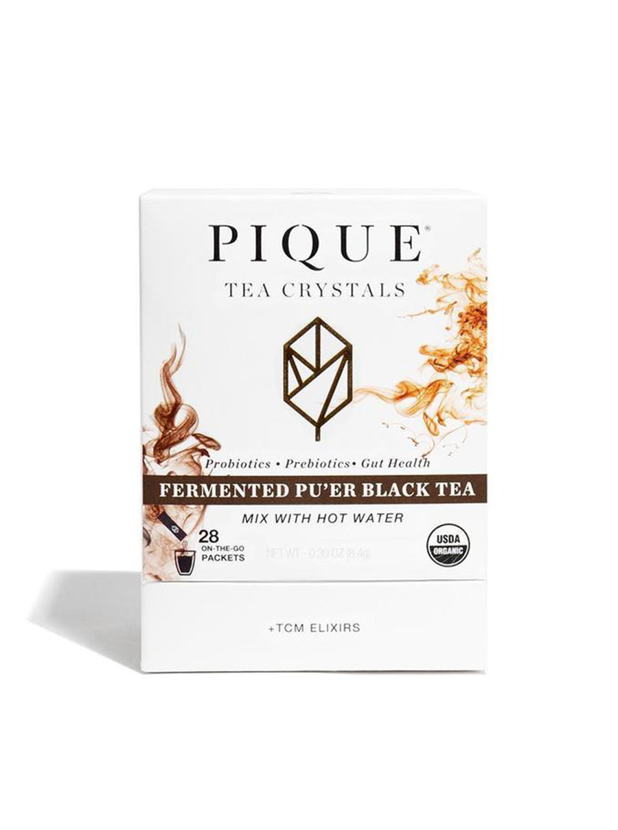 pique tea fermented pu'er black tea