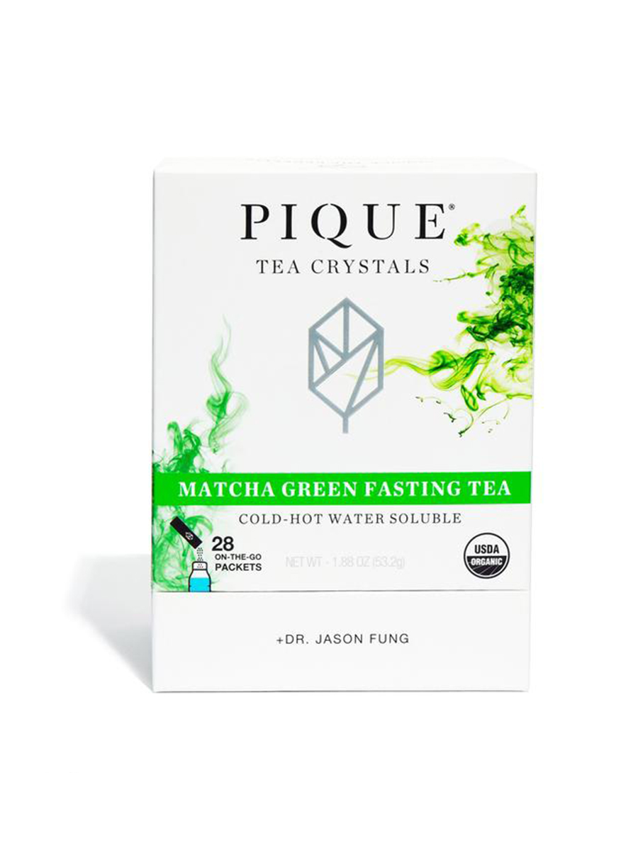 pique tea Matcha Green Fasting Tea
