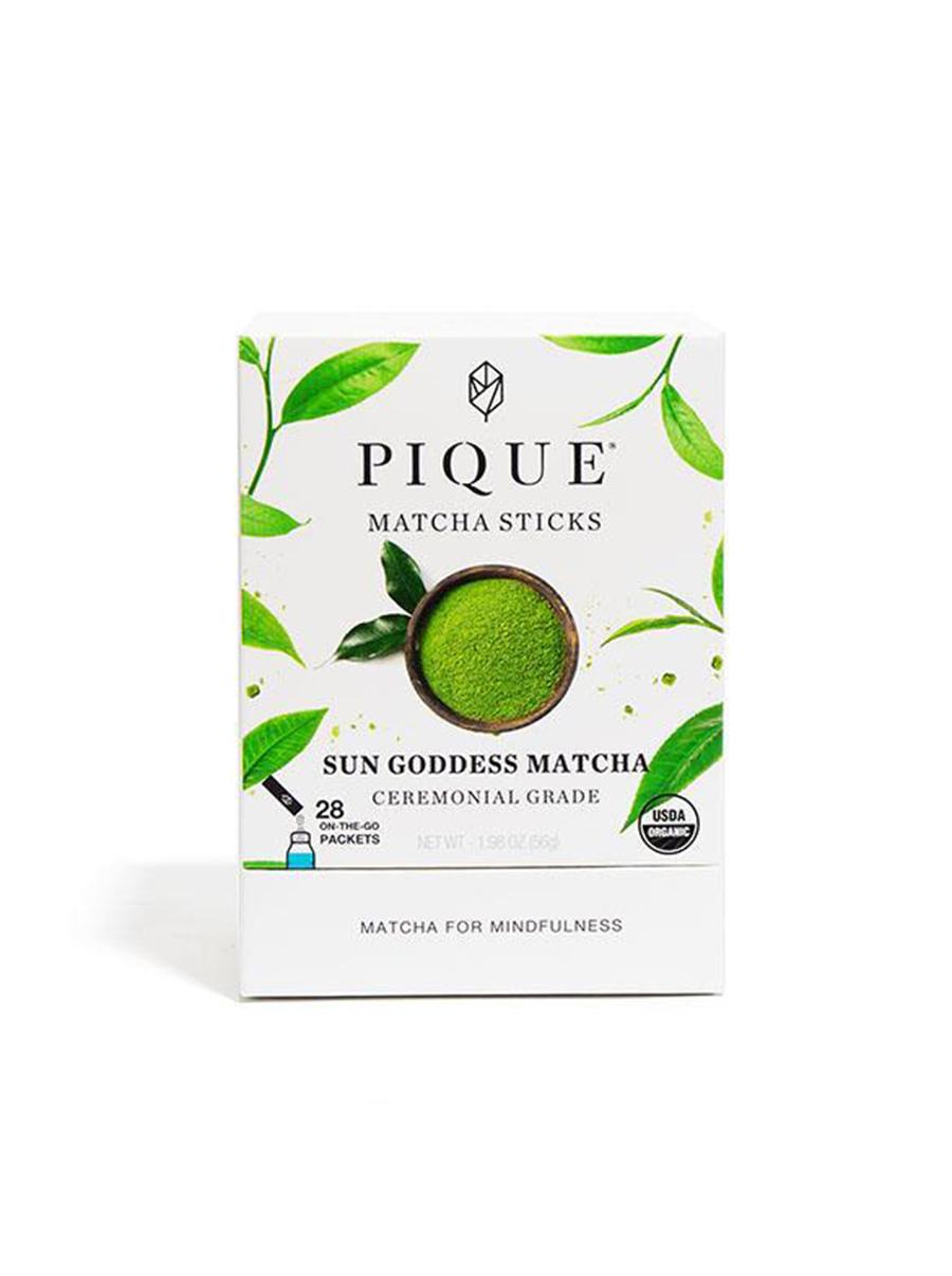 pique tea sun goddess matcha