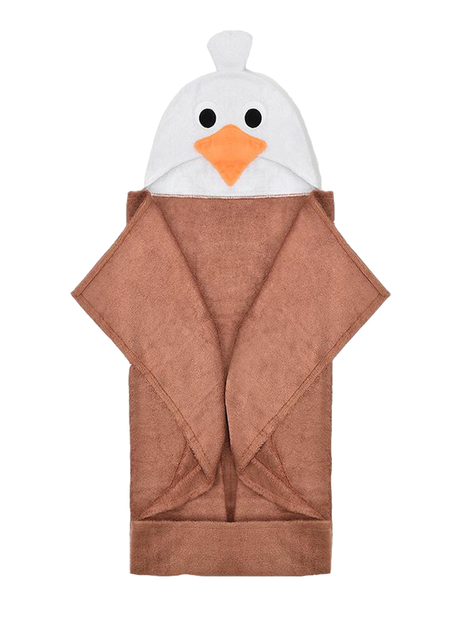natemia Baby Eagle Bamboo Hooded Towel
