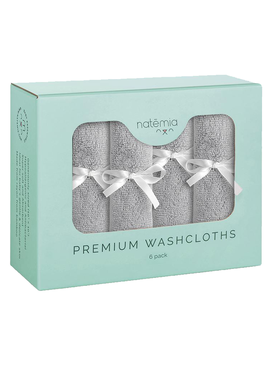 natemia Ultra Soft Bamboo Washcloths